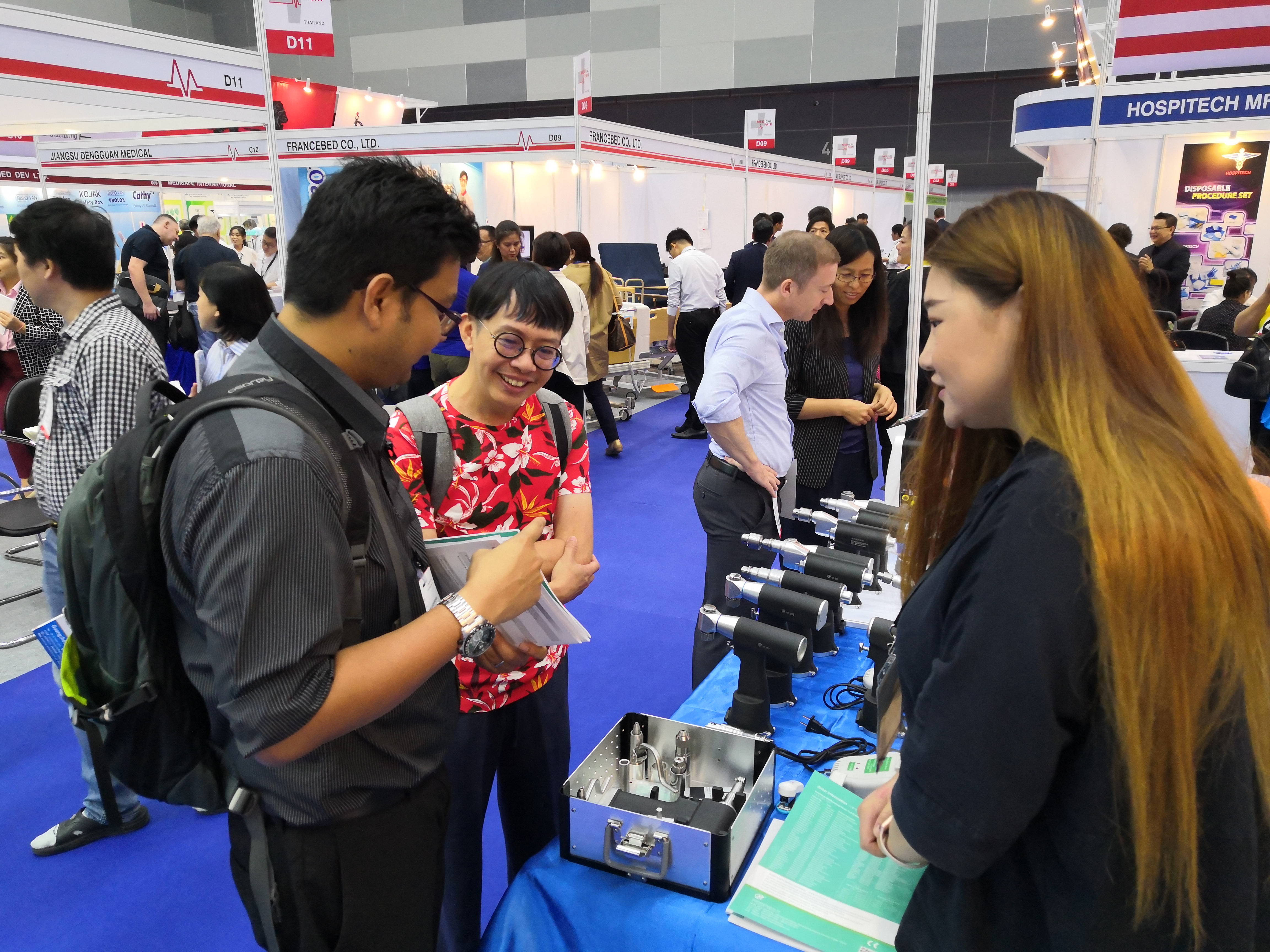 Meet at the Medical Fair Thailand on September 11-