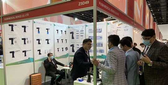 PUSM Achieved Great Success in Arab Health 2020!