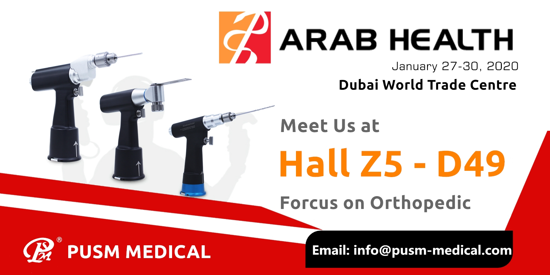 Arab Health Invitation from PUSM Medical